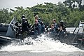 US Navy 110808-N-XK513-331 Rear Adm. Kenneth J. Norton, along with other U.S. Navy personnel, ride with a Nigerian visit, board, search and seizure.jpg