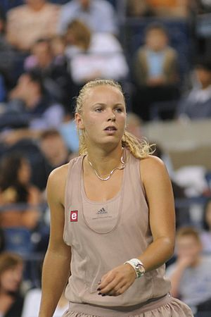 Caroline Wozniacki at the 2009 US Open