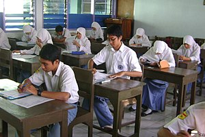 National Exam (Indonesia) - National examination in Indonesia.