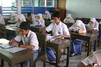 National Exam (Indonesia) - National examination in Indonesia.