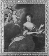 Ulrika Eleonora the Elder (1656-1693), Princess of Denmark, Queen of Sweden, and her four deceased sons