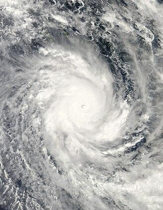 Cyclone Ului - Image: Ului 14 mar 2010 0315Z