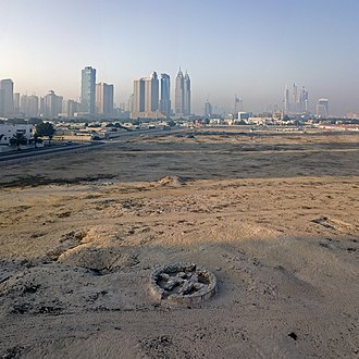 Umm al-Nar culture - Distinctive Umm Al Nar burial - this grave is at the Al Sufouh Archaeological site in Dubai.