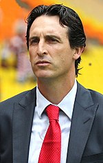 Basque Unai Emery, managed Valencia from 2008 to 2012.