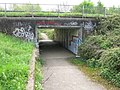 Underpass for the Stour Valley Walk under the A28 - geograph.org.uk - 1270575.jpg