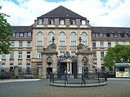 Uniklinikum Mannheim Haupteingang