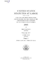 United States Statutes at Large Volume 117.djvu