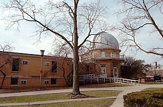 Astronomical Observatory (University of Illinois at Urbana–Champaign) - A view of the Observatory in 2008