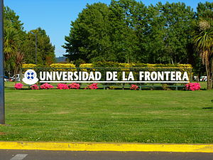 University of La Frontera - Image: Universidad de La Frontera