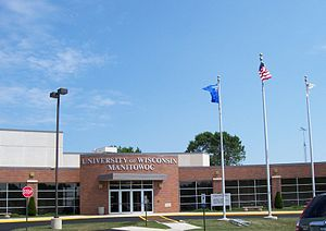 University of Wisconsin–Manitowoc - Main entrance
