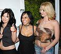 Unk, Regan Reese, Katarina Kat at Playboy Mansion 1.jpg