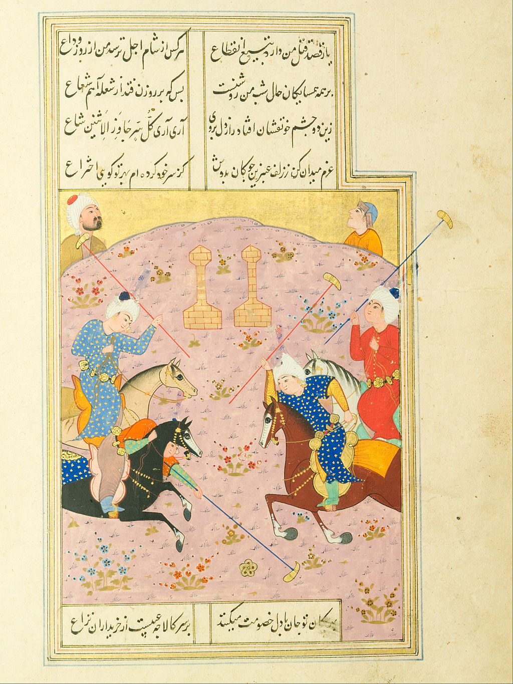 Unknown, Iran, 16th Century - Diwan of Jami Manuscript - Google Art Project