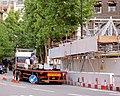 Unloading steel for new building. - geograph.org.uk - 510400.jpg