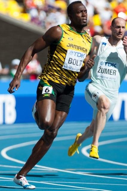 Usain Bolt3 Moscow 2013