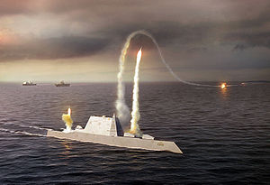 SC-21 (United States) - The distinctive hull of the ''Zumwalt'' class was derived from the SC-21 program.