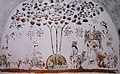 Uyghur Manichaean Wall-Painting at Bezeklik Caves.jpg