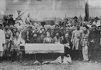 First East Turkestan Republic - Uyghur Rebels