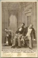 Våra flickjägare, Södra teatern 1890. Rollporträtt - SMV - H9 180.tif