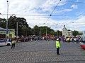 Výstaviště Holešovice, historické tramvaje, dispečeři řídí dopravu (01).jpg