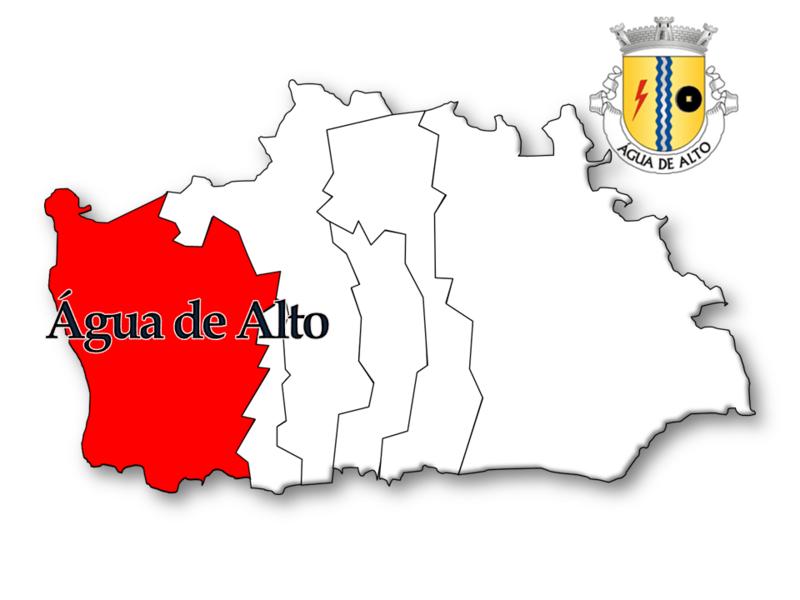 Localização no concelho de Vila Franca do Campo