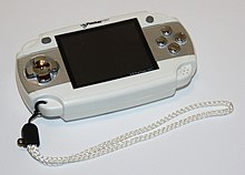 A photo of a VG Pocket Max gaming system