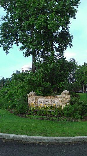 Vestavia Hills, Alabama - Entrance to Vestavia Hills from Highway 31