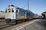 VIA Rail Budd Rail Diesel Car RDC-4 6250 at Sudbury Ontario.jpg
