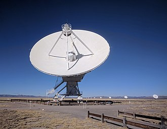 Very Large Array - Image: VLA dish and arm