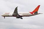 VT-ANJ Boeing 787 Dreamliner Air India (14685612456).jpg