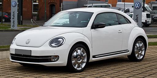 VW Beetle 1.4 TSI Sport – Frontansicht, 3. März 2013, Düsseldorf