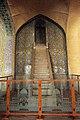 Vakil Mosque (عکس از منبر و محراب زیبای مسجد وکیل ساخته شده از سنگ مرمر).jpg