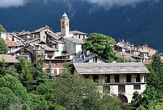 Valdeblore Commune in Provence-Alpes-Côte dAzur, France