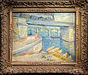 Van Gogh - Bridges across the Seine at Asnières with frame.jpg