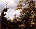 Van Ruisdael, Jacob - Landscape with a Church - Google Art Project.jpg