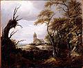 Van Ruisdael, Jacob - Landscape with a Church - Google Art Project.jpg