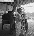 Vara-landdag in Berg en Bos . Optreden van Josephine Baker, Bestanddeelnr 912-6452.jpg
