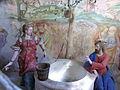 Varallo, Sacra monte, Cappella 14-Samaritan woman at the well 03.JPG
