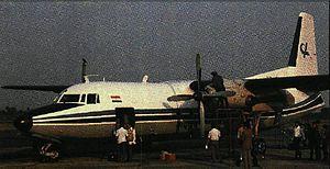 Vayudoot - Vayudoot Fokker F27-100