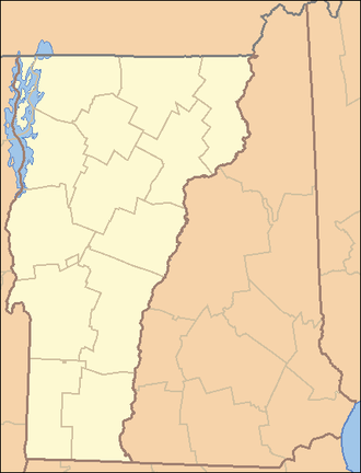 United States District Court for the District of Vermont - Image: Vermont Locator Map 2