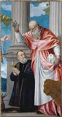 Veronese, Paolo - St Jerome and a Donor - Google Art Project.jpg