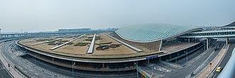 Beijing Capital International Airport - Flight view of Beijing Capital International Airport