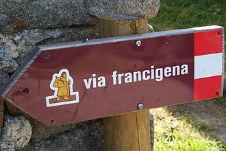 Borgo Val di Taro - The Via Francigena at Valdena