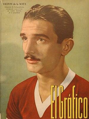 Vicente de la Mata - De la Mata in 1940.