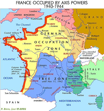 Map Of Germany Occupation Zones.Demarcation Line France Wikiwand