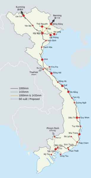 Tập tin:Vietnam Railway Map.png