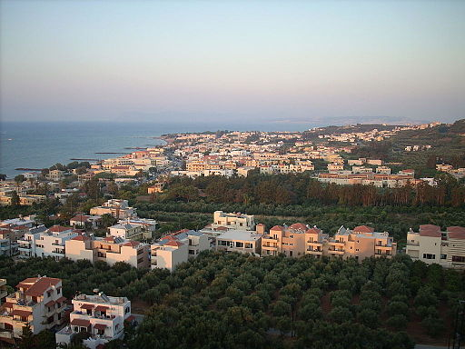 View from Platanias hill-frubensson