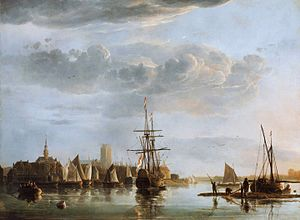 View of Dordrecht, by Aelbert Cuyp. View of Dordrecht, by Aelbert Cuyp.jpg