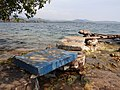 View of Footbridge and Lake - Peace Island - Lake Kivu - Near Kibuye (Karongi) - Rwanda (8979864642).jpg