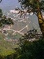View through trees to Shanchuan Liuli Bridge.jpg