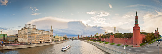 View to Moscow river from Bolshoy Moskvoretsky Bridge.jpg